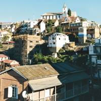 Antananarivo's upper town