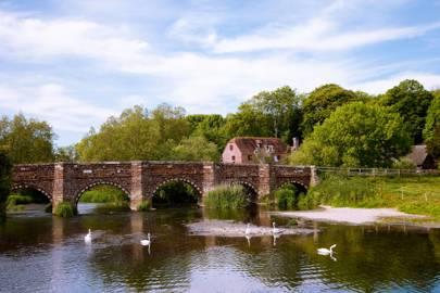 White Mill Bridge, near Wimborne Minster