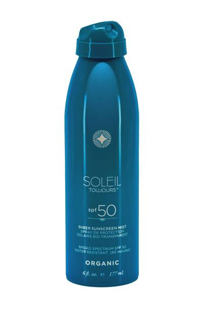 Soleil Toujours Organic Sheer Sunscreen