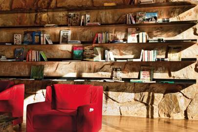 Library at Botanique Hotel & Spa