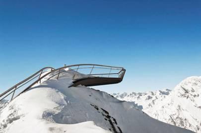 Stubai Glacier Platform, Austria