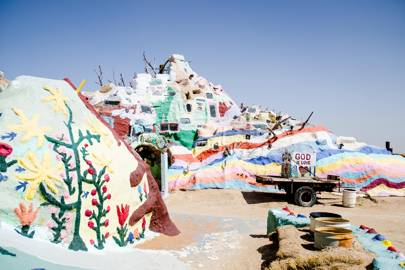 Salvation Mountain Imperial Valley