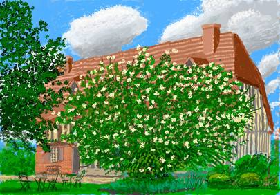 DAVID HOCKNEY: THE ARRIVAL OF SPRING, NORMANDY, ROYAL ACADEMY