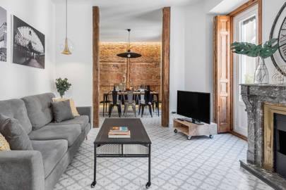 A stylish apartment in Madrid