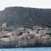 The town of Monemvasia