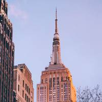 26. View of the Empire State Building from Bryant Park