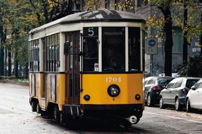 Trams, Milan