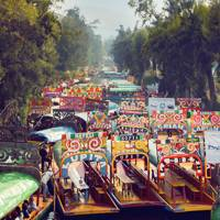 5. Floating Gardens of Xochimilco