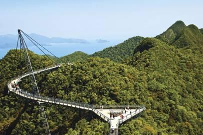 Langkawi Sky Bridge, Pulau, Malaysia