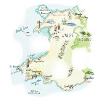 Where to stay on the Wales Coast Path