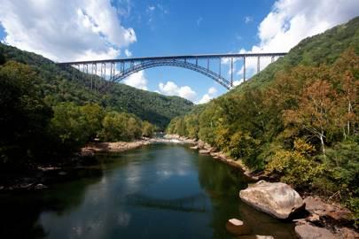 West Virginia: New River Gorge Bridge, Appalachian Mountains