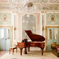 A restored 17th-century palace in Venice