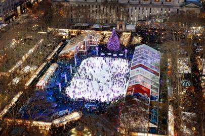3. Bank of America Winter Village at Bryant Park