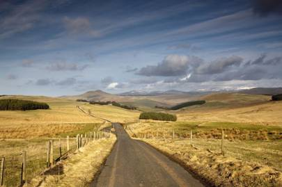 A working holiday in Scotland