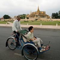 Cyclo taxi in Phnom Penh