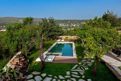 An authentic Grecian villa in Crete