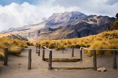 The Paso de Cortés mountain pass