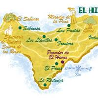 El Hierro map