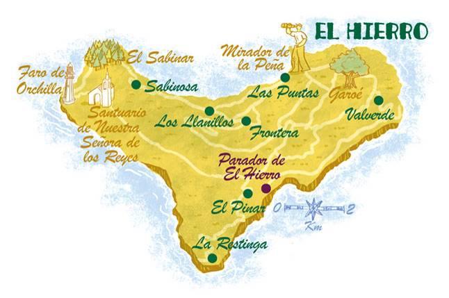 La Palma El Hierro and La Gomera the quiet Canary Islands CN
