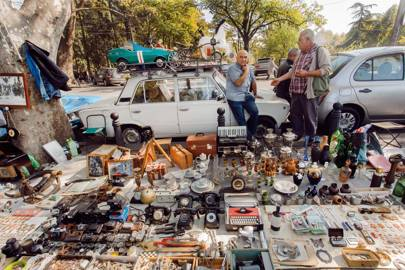 10. Visit the best flea market in the Caucasus