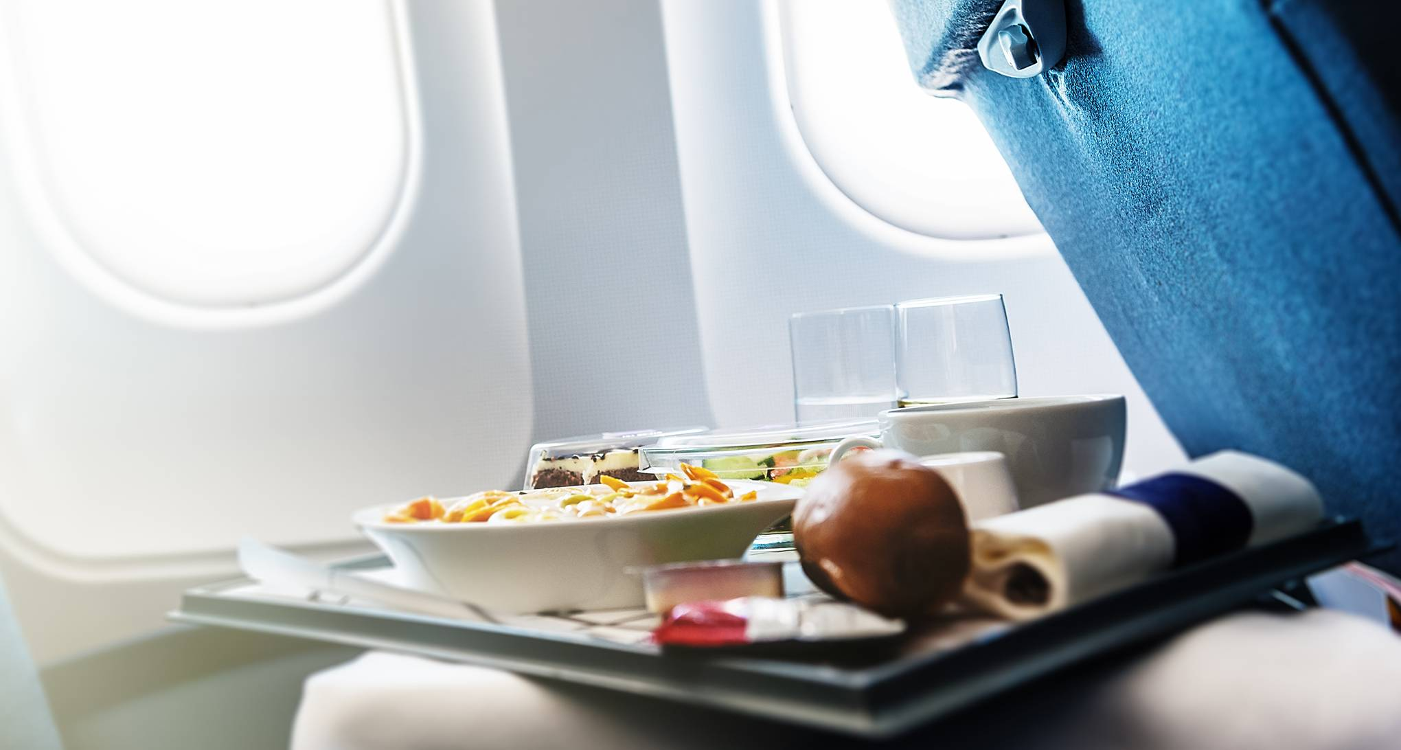 Can you ask for seconds of your in-flight meal?