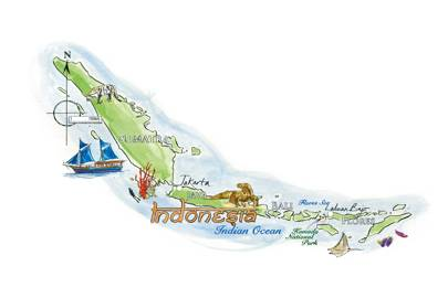 Island-hopping in Indonesia