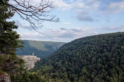 Arkansas: Whitaker Point (Hawksbill Crag), Ozark National Forest