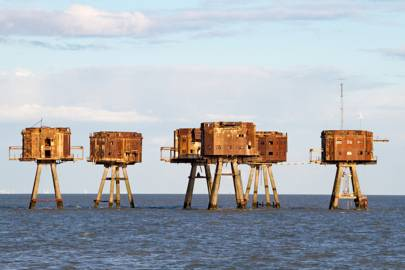 The Maunsell Sea Forts, Thames Estuary