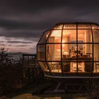 A sexy spaceship, Drimnin, Scottish Highlands