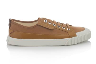 4. Jimmy Choo canvas and leather plimsolls