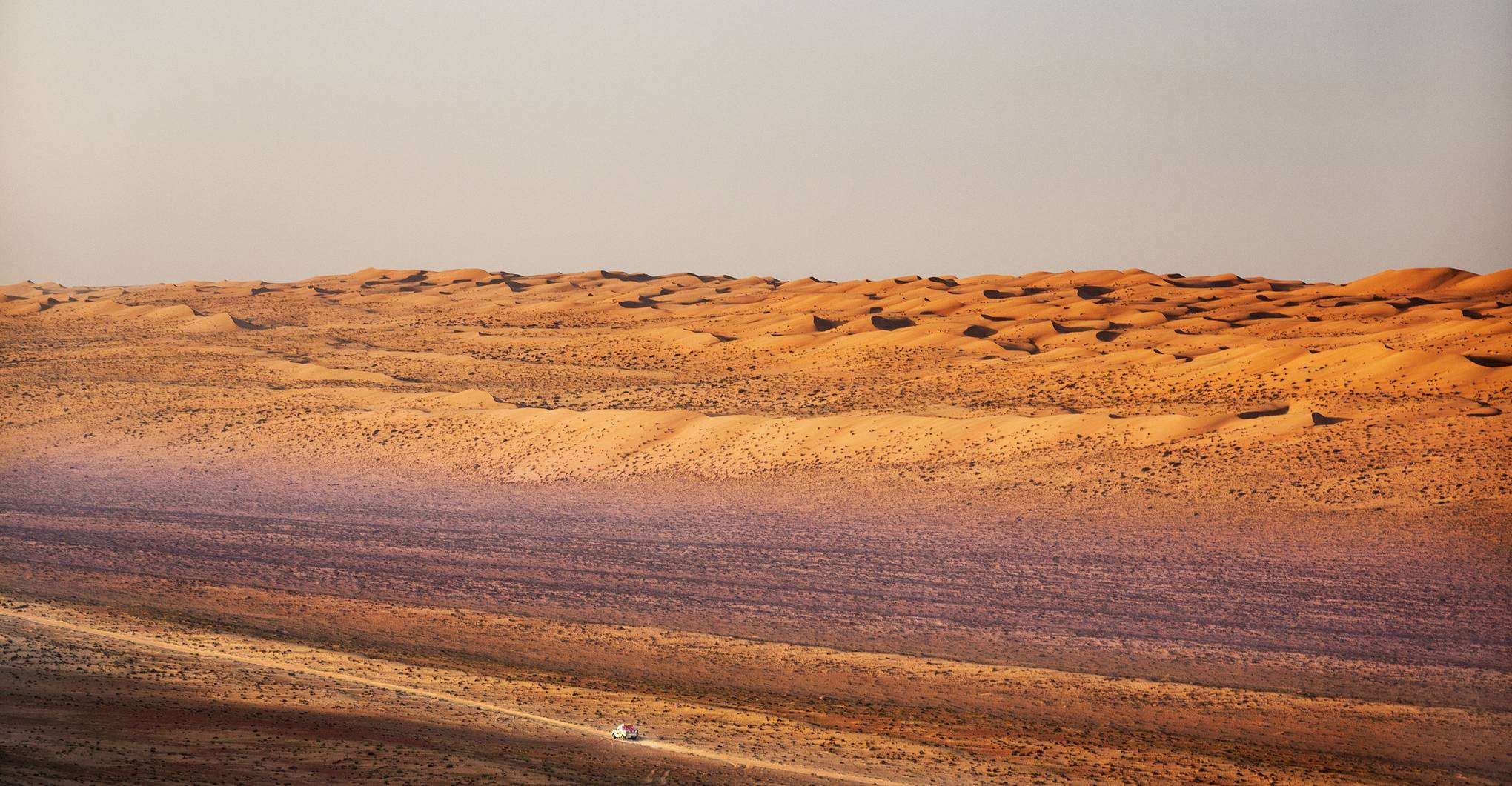 Desert safari in Oman