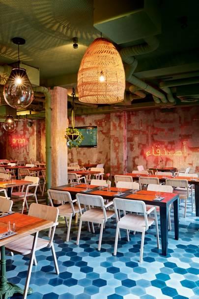 Bar Shuka, Frankfurt