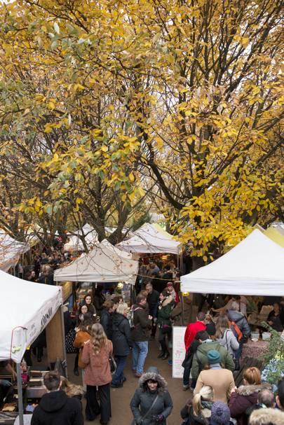 1. Visit a food market