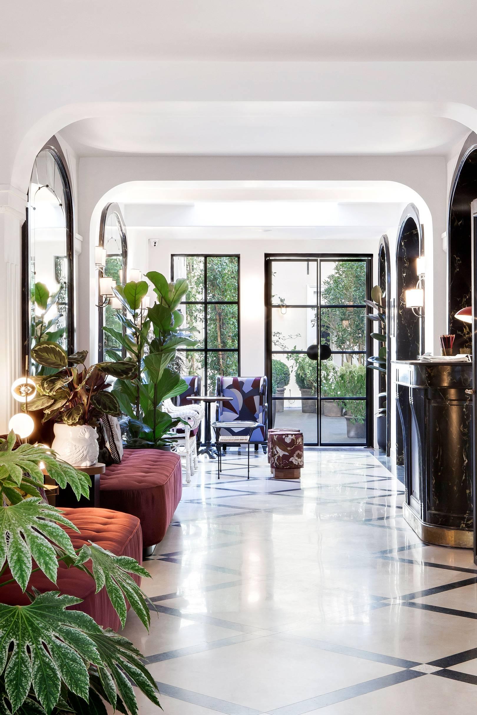 The Best Paris Hotels Cn Traveller Inside Flats Joyce Pink
