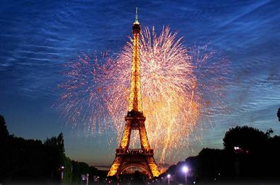 Celebrate Bastille day in Paris