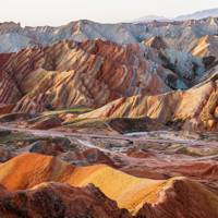 50. Zhangye Danxia Landform, China