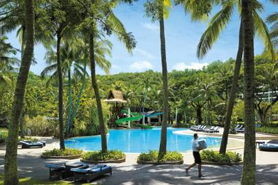 Shangri-La's Rasa Ria Resort, Kota Kinabalu, Borneo