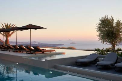 1. Newly opened Omma Santorini is offering 15 per cent off all rooms for 2021 early bookings