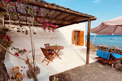A restored fisherman's cottage in Lanzarote