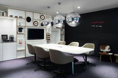 Meeting rooms at CitizenM Bankside