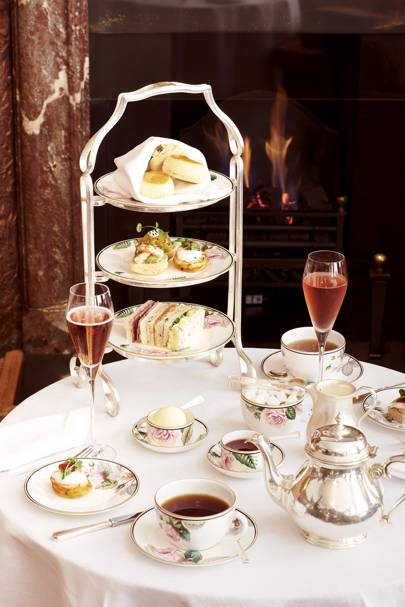 Afternoon tea at Brown's