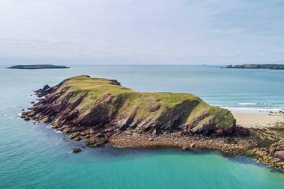 Gateholm island, Pembrokeshire, Wales