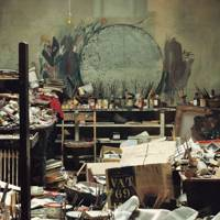 Francis Bacon's studio