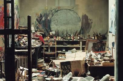 Francis Bacon's studio