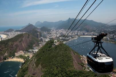 Sugar Loaf Mountain, Rio de Janeiro in 'Moonraker'