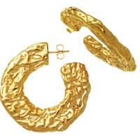 Giovanni Raspini chunky gold hoops