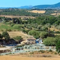 Terme di Saturnia, Tuscany, Italy