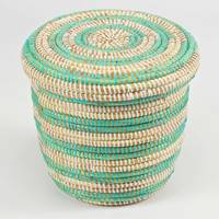 7. The African storage basket
