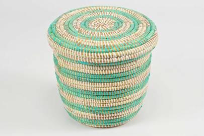 7. The African storage basket