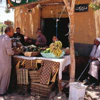 A stall at Siwa
